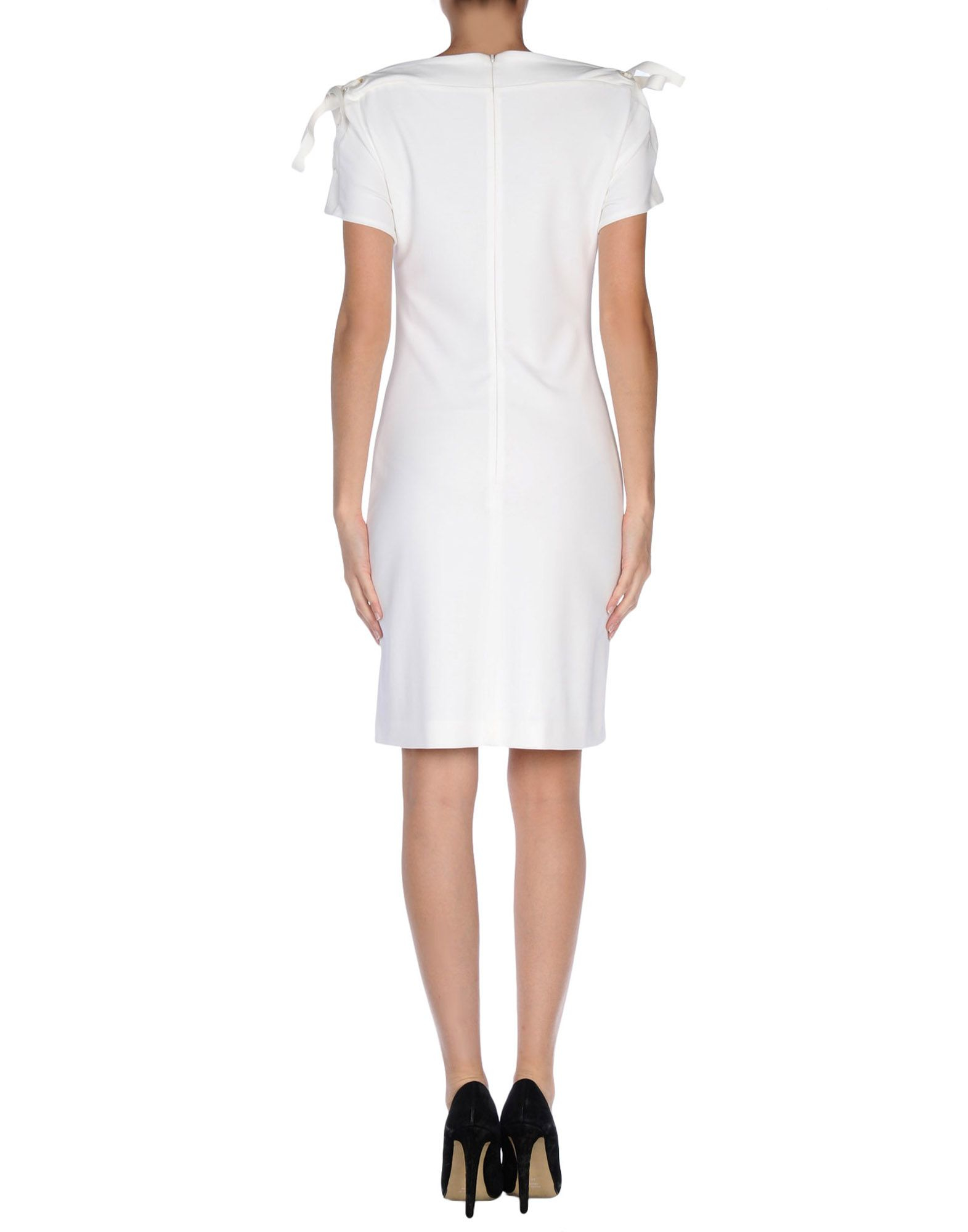 gucci short dress in white lyst