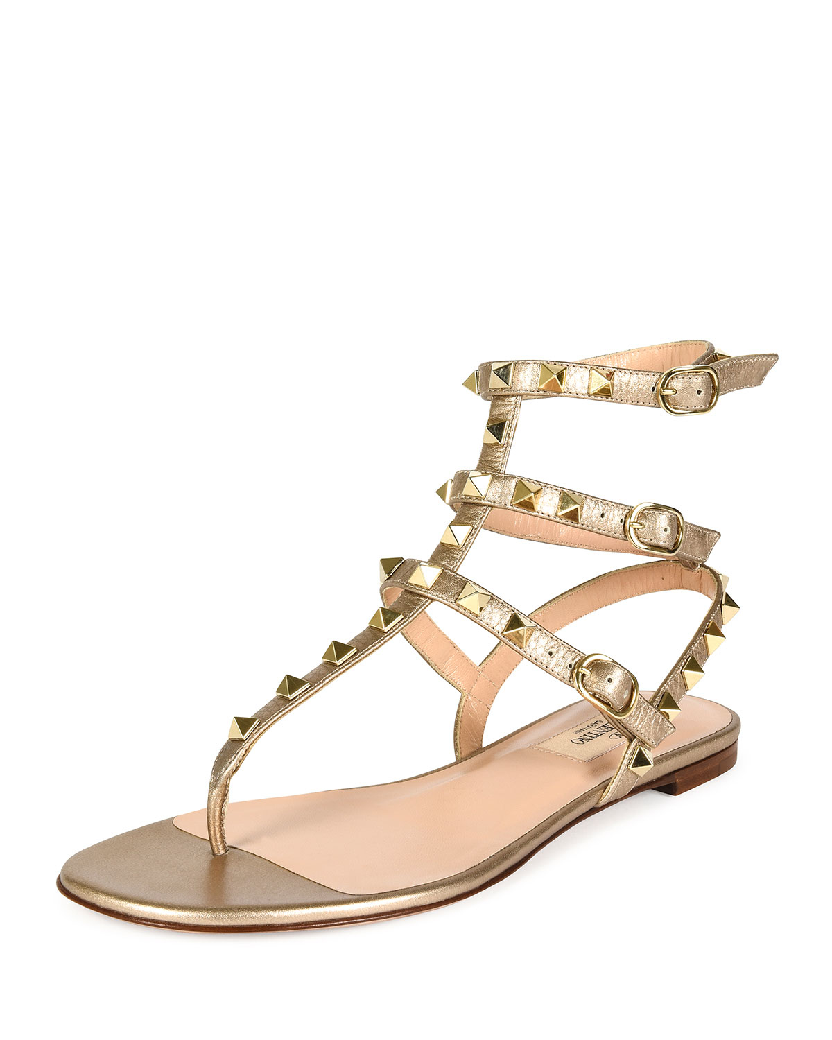 90d88bc1a7190 Gallery. Previously sold at  Bergdorf Goodman · Women s Gladiator Sandals  Women s Valentino Gladiator Sandals Women s Valentino Rockstud ...