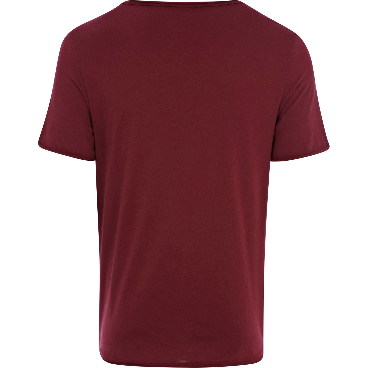 Lyst River Island Low Scoop Neck T Shirt In Red For Men