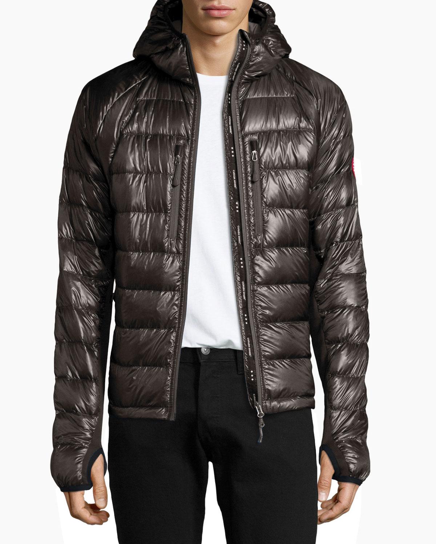 dd12491e6 italy canada goose hybridge hooded jacket 8751a eae9e