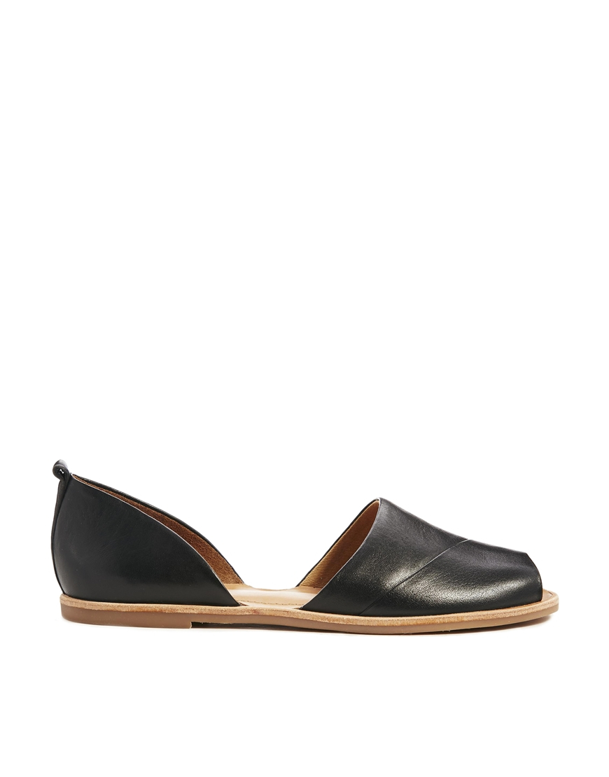 Aldo Black Flat Shoes