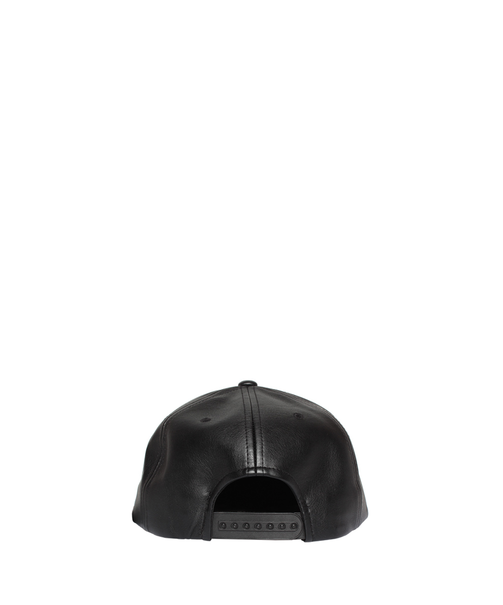 D.Gnak Eco Leather Cap in Black for Men - Lyst 6797f2961f2a