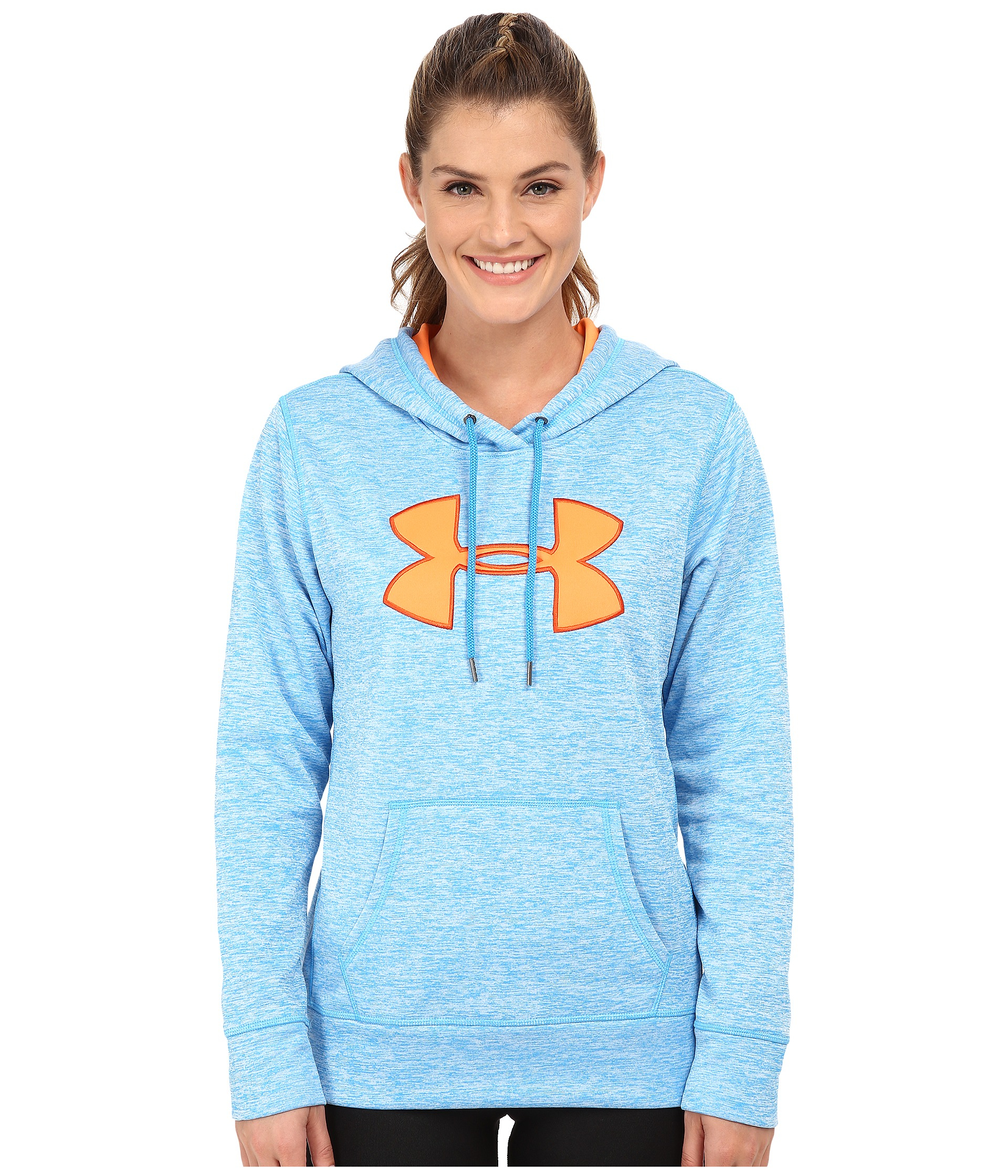 19fcf425104b Lyst - Under Armour Ua Storm Armour® Fleece Big Logo Twist Hoodie in ...