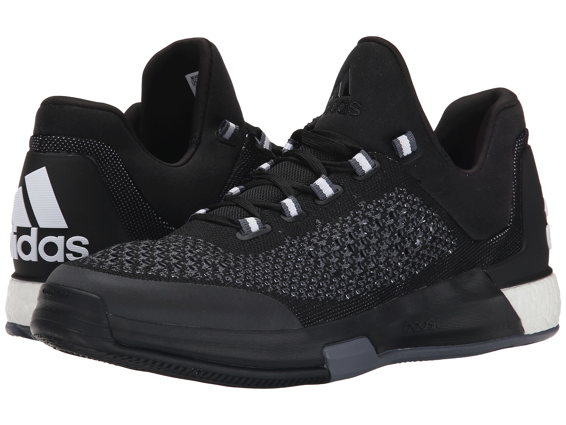 huge discount 5f143 b2542 cheapest adidas 2015 crazylight boost primeknit strap black basketball shoes  s85571 m13 b4a45 0862f  shopping lyst adidas 2015 crazylight boost primeknit  in ...