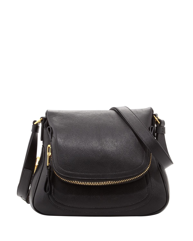 Innovative Tom Ford Jennifer Leather Shoulder Bag In Black  Lyst