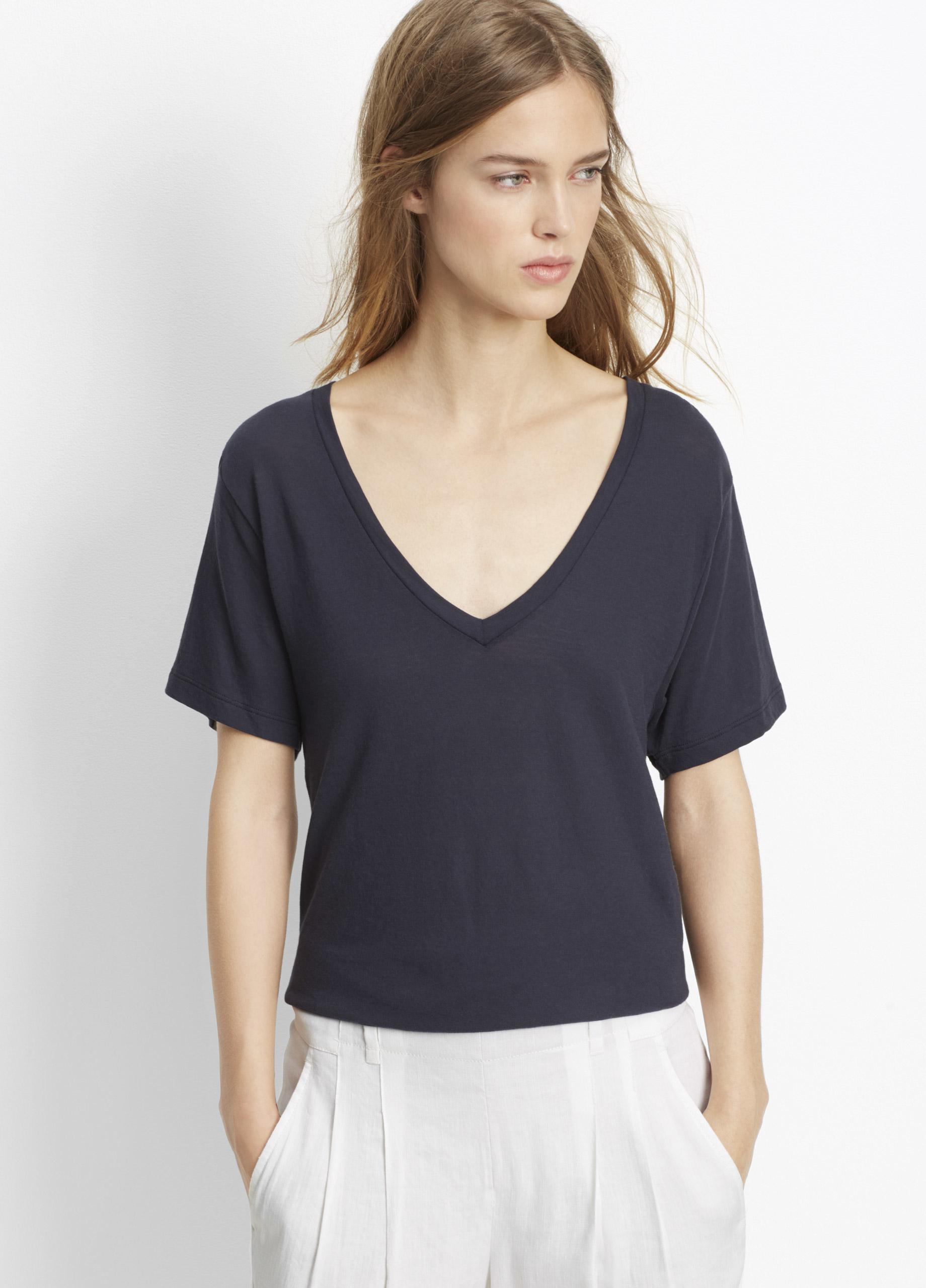 Our Pima Cotton Scoop Neck Tee is the perfect piece to add to your closet. 40% OFF FULL-PRICE TOPS & SWEATERS * USE CODE: GETCOZY EXTRA 40% OFF** ALL SALE STYLES DETAILS/5(53).