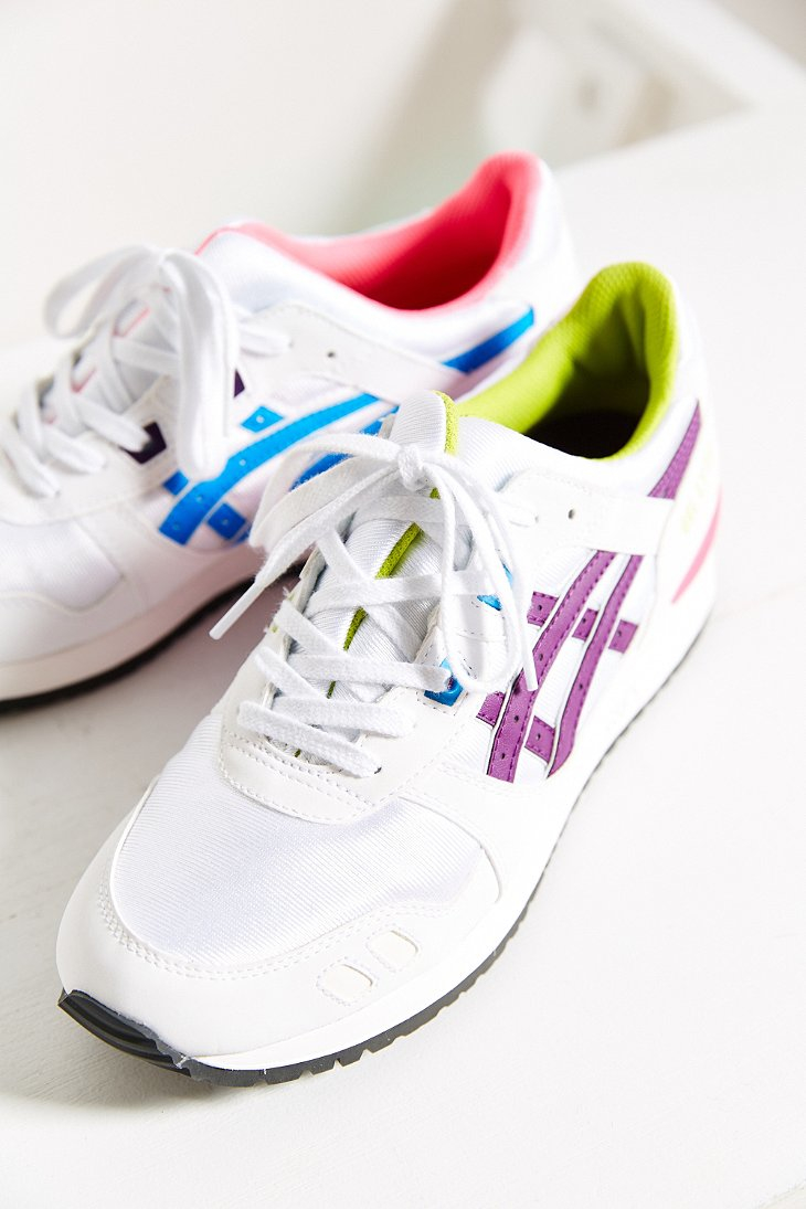 ladies purple asics gel lyte iii