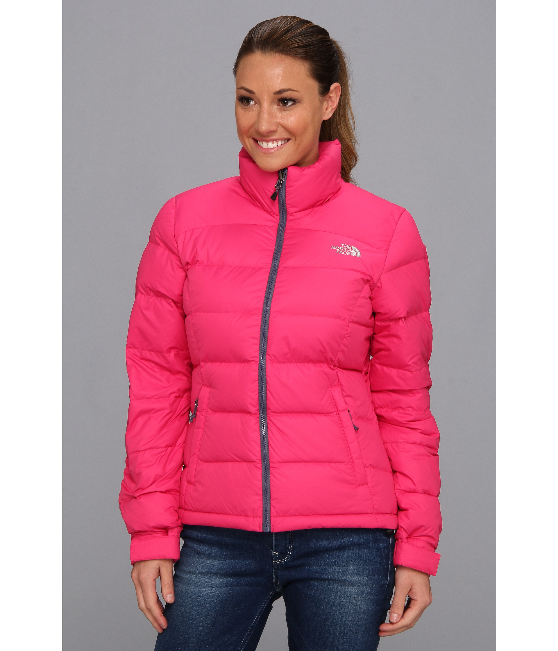 e7083816ee8 The North Face Nuptse 2 Jacket in Pink - Lyst