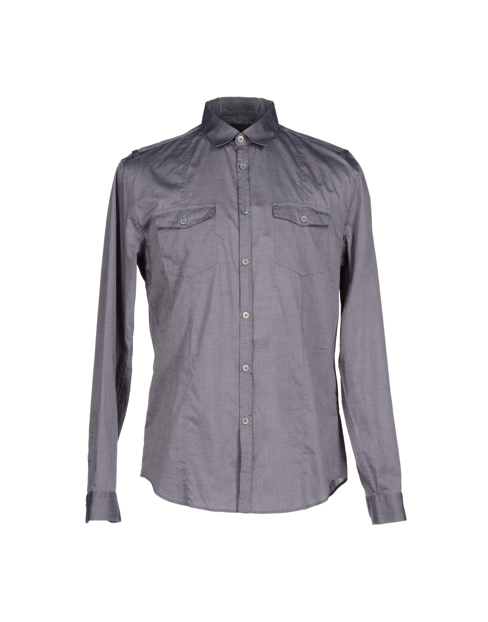 John varvatos Shirt in Gray for Men