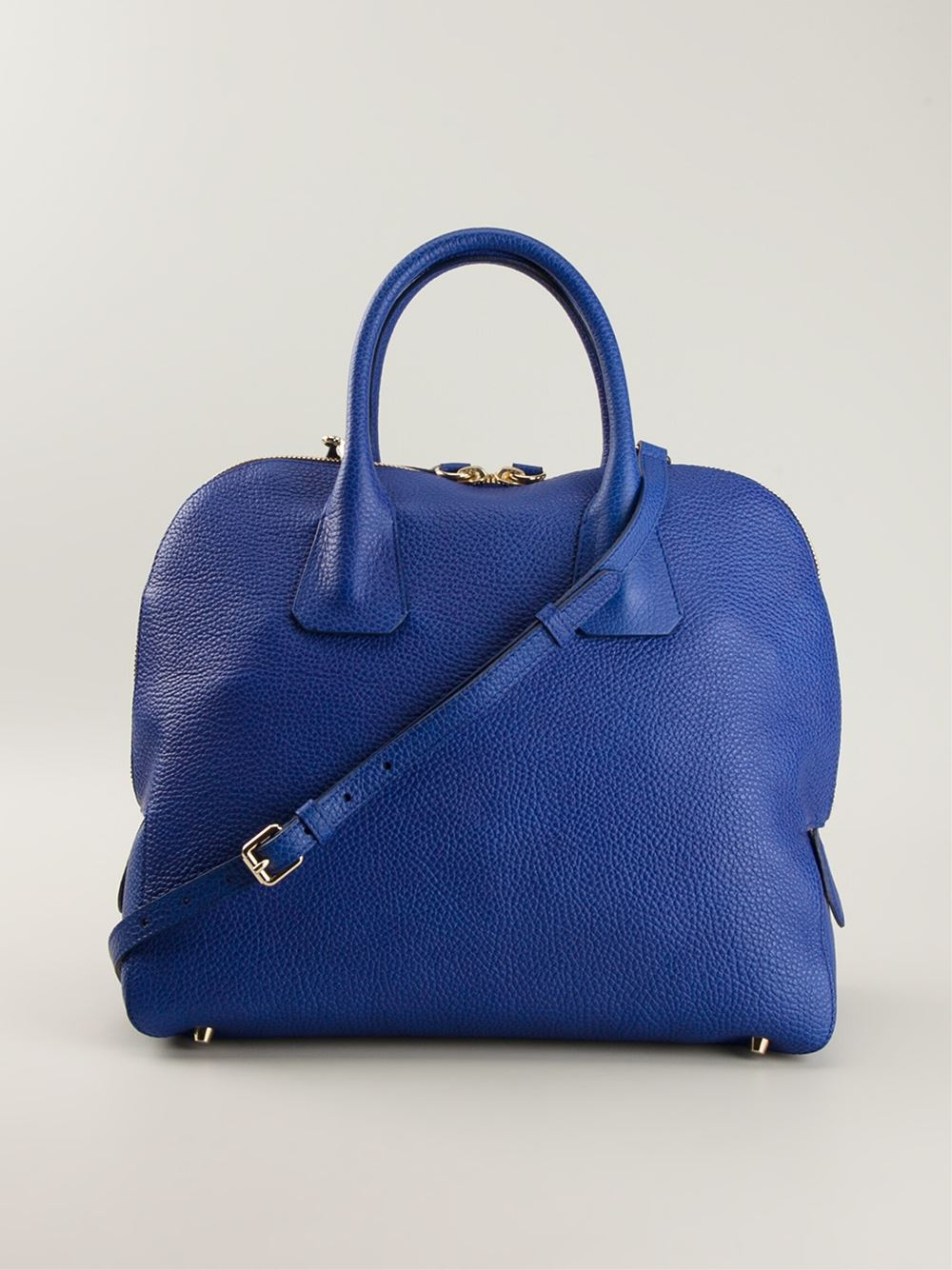e0744839c7ef Lyst - Burberry Medium Bowling Bag in Blue