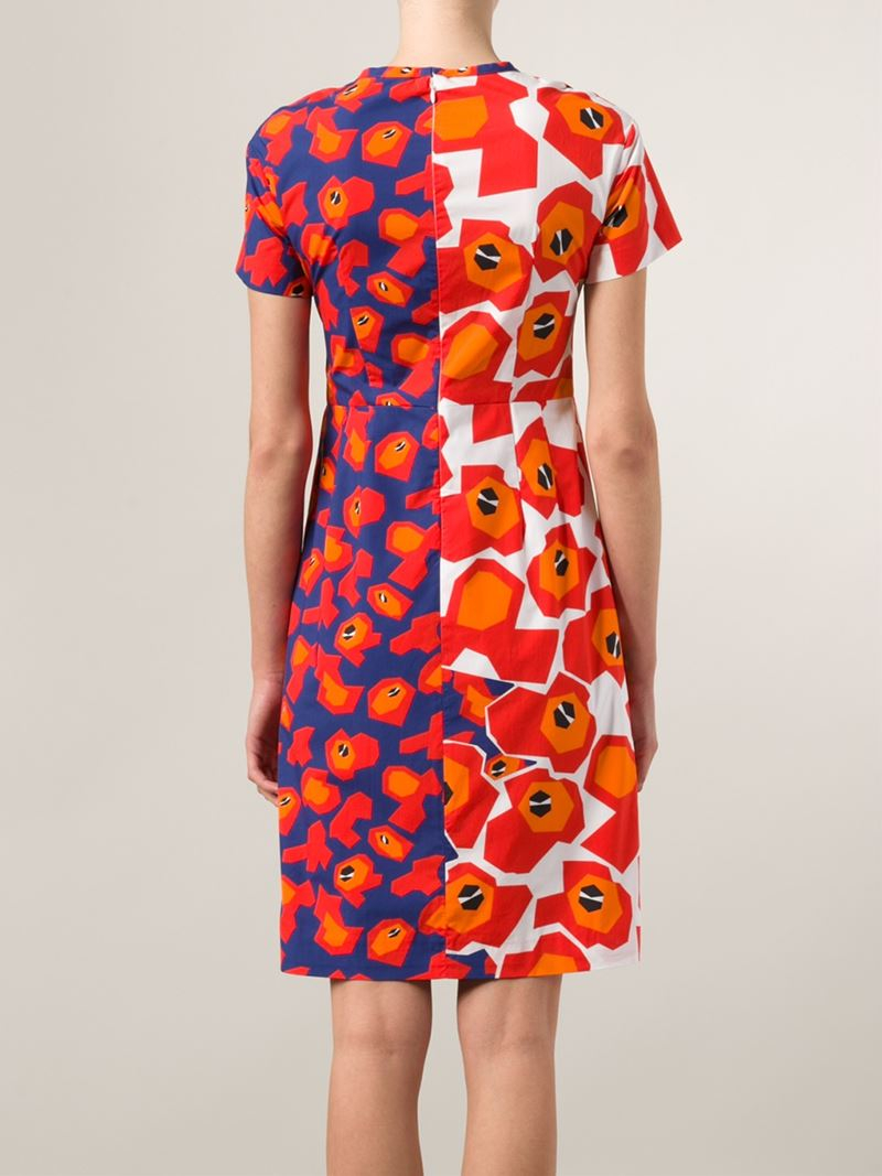 Floral-printed midi dress Jil Sander Cheap Many Kinds Of Ost Release Dates Outlet Cost Many Colors jCGQIf