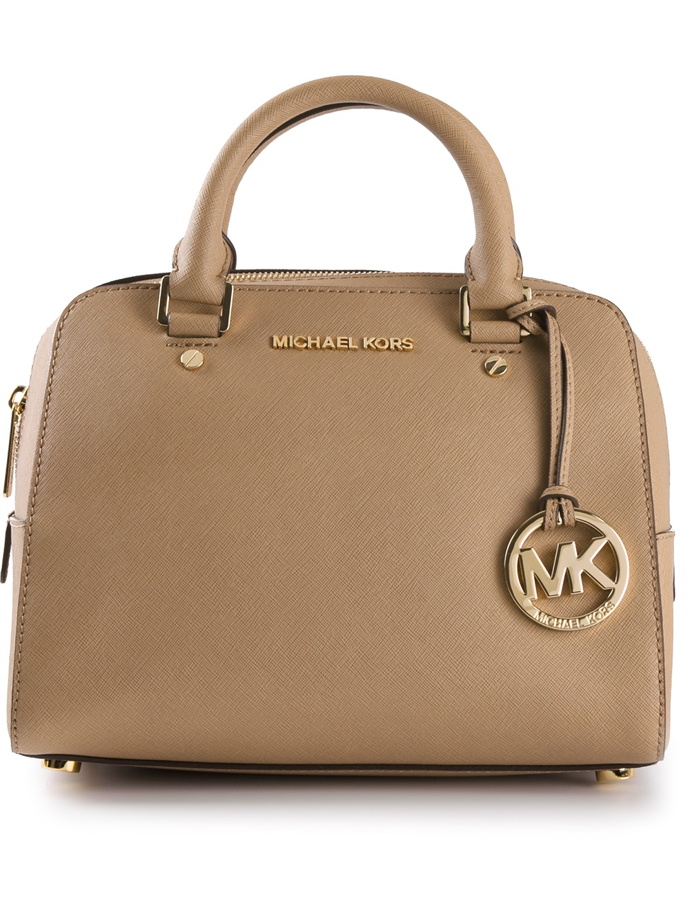 michael michael kors small tote bag in brown lyst. Black Bedroom Furniture Sets. Home Design Ideas