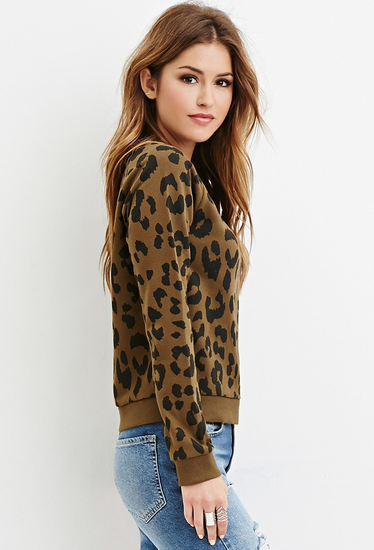 Cheetah Print Cardigan Forever 21 - Best Cheetah Image And Photo ...