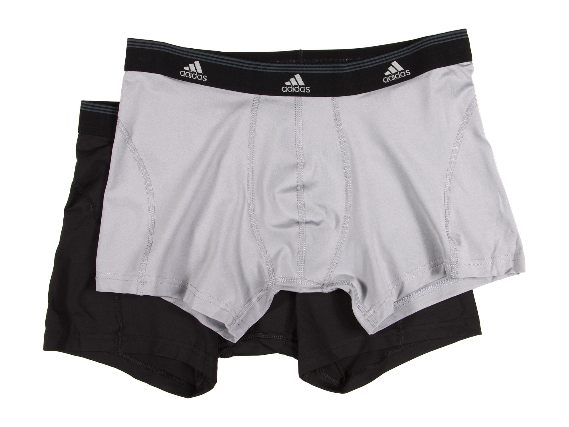 ec64300f1ba2 Lyst - adidas Sport Performance Climalite® 2-Pack Trunk in Black for Men