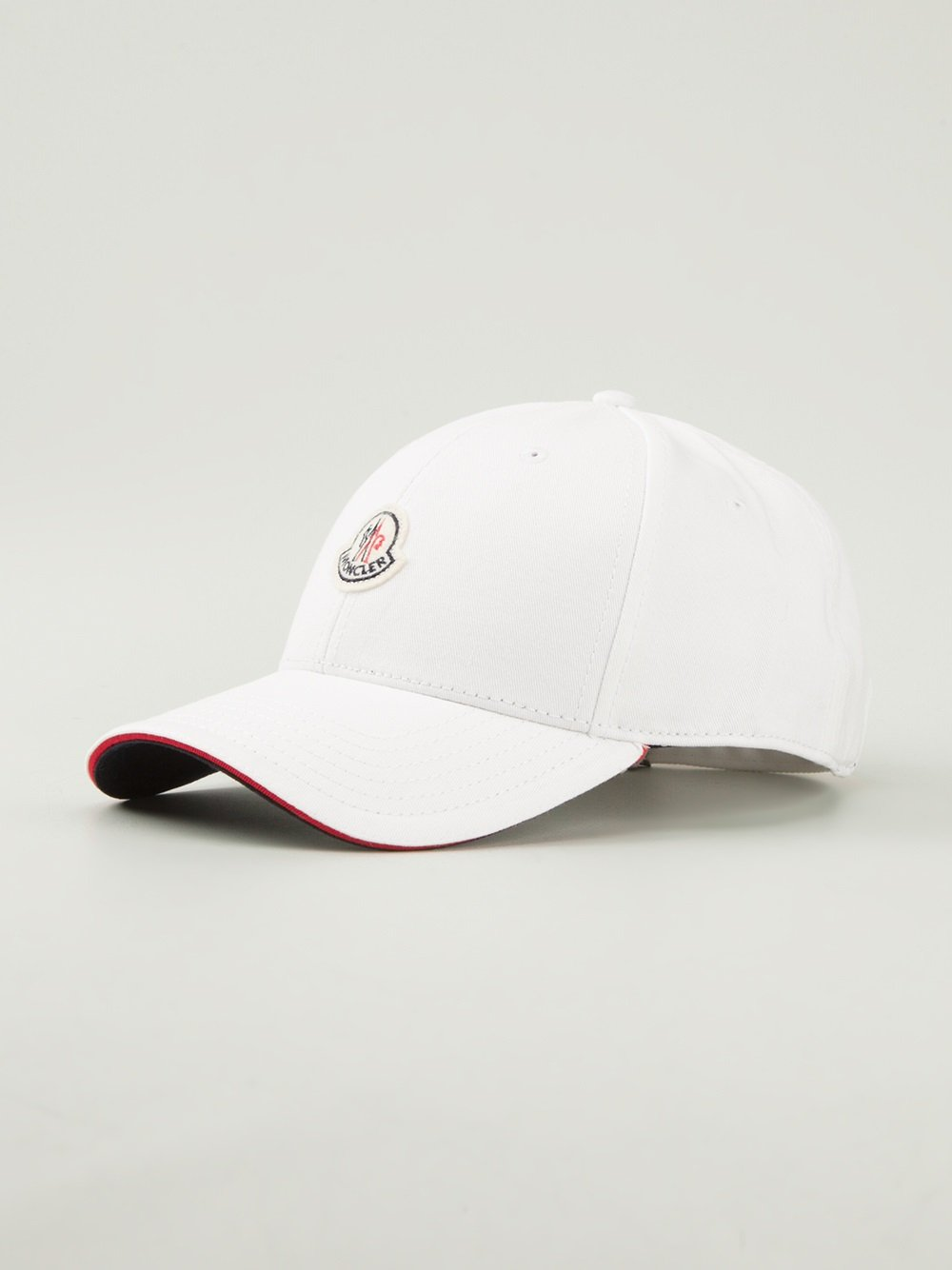 moncler baseball cap in white for men lyst. Black Bedroom Furniture Sets. Home Design Ideas