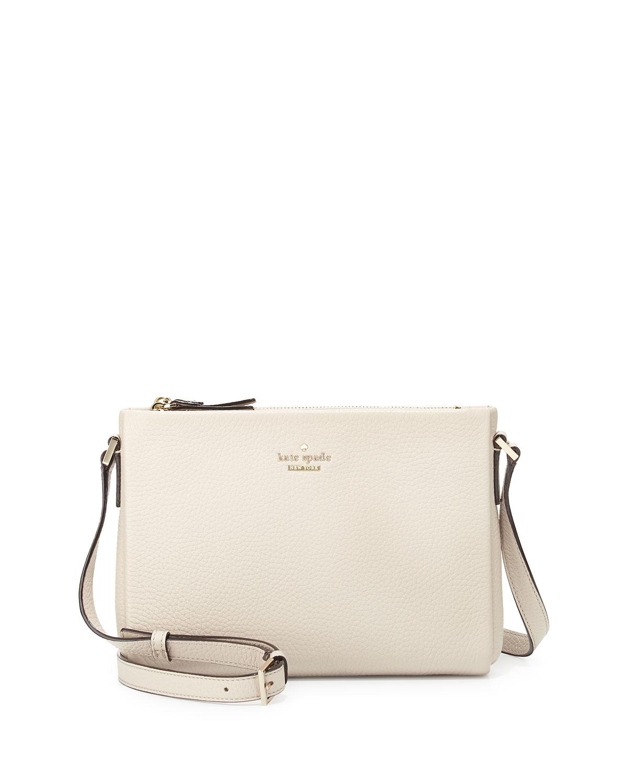 e60de8160e Lyst - Kate Spade Holden Street Lilibeth Leather Bag in White