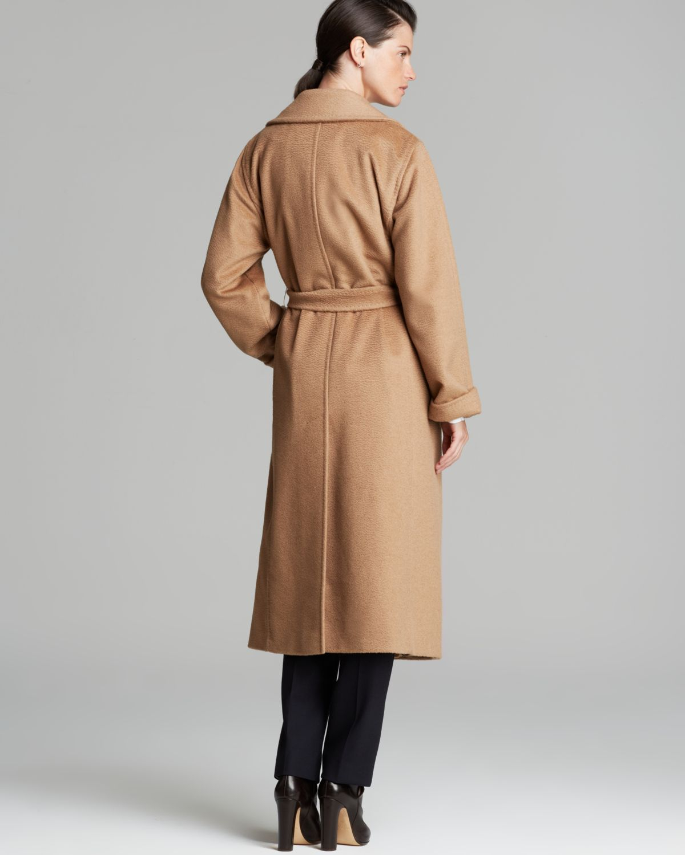 Lyst Max Mara Coat 3manuel In Brown