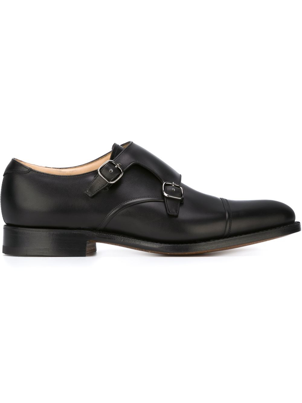 church s monk shoes in black for lyst