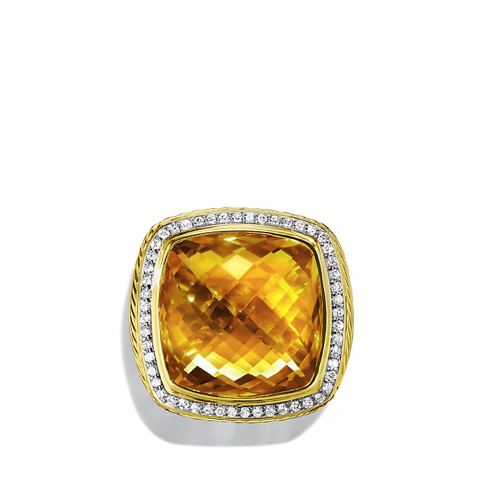 Lyst David Yurman Albion Ring With Diamonds In Gold