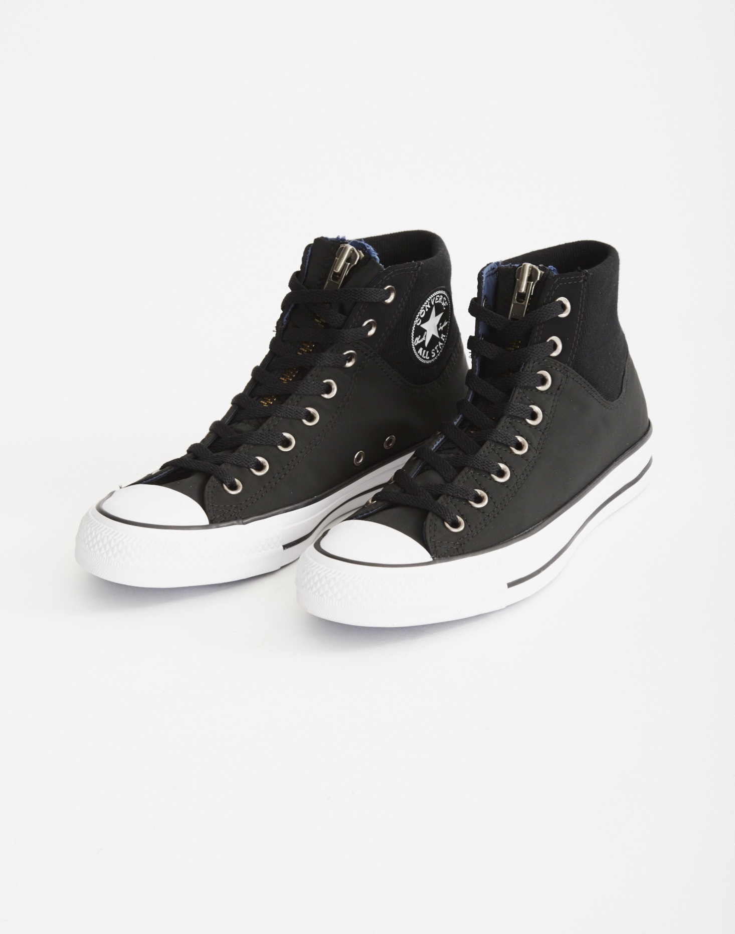 Lyst - Converse Chuck Taylor Ma-1 Zip Hi Trainer Black in Black for Men 10659c2f6