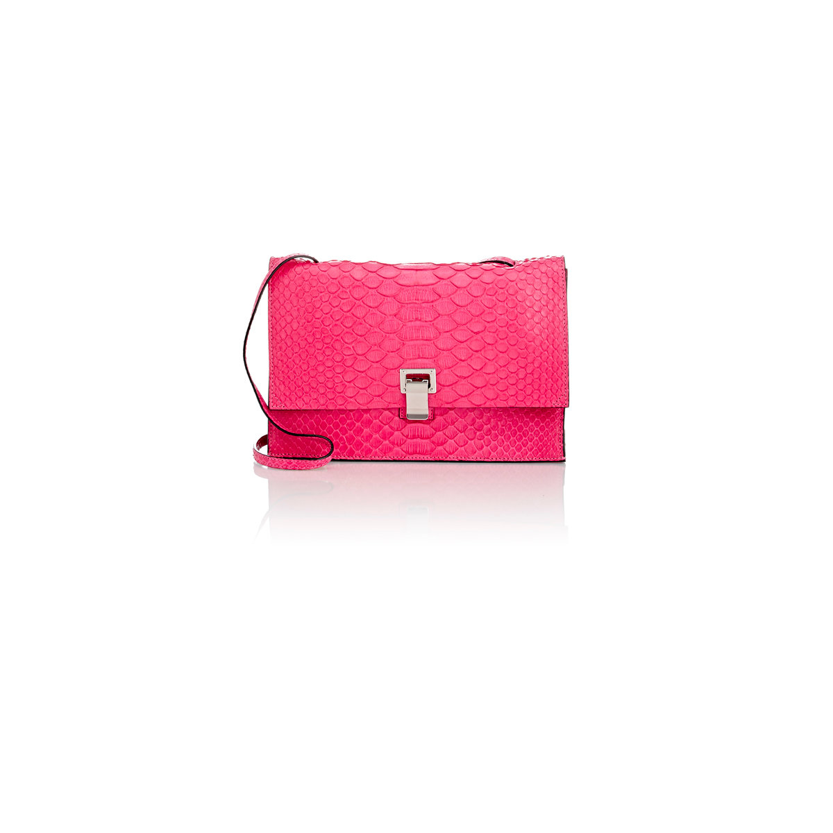 proenza schouler small lunch bag in pink lyst
