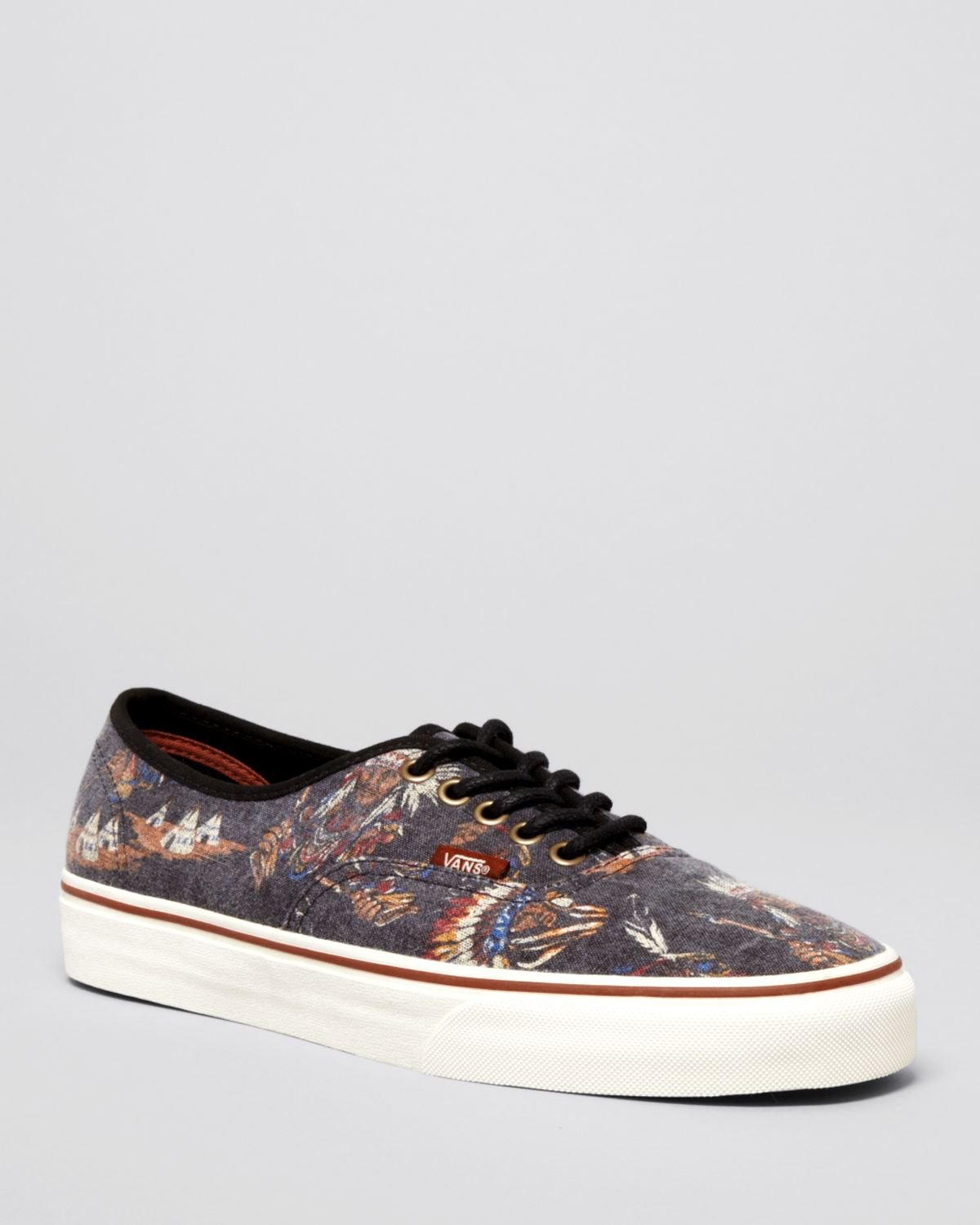 10c8e0928f4926 Lyst - Vans Authentic Tribal Leaders Sneakers in Black for Men