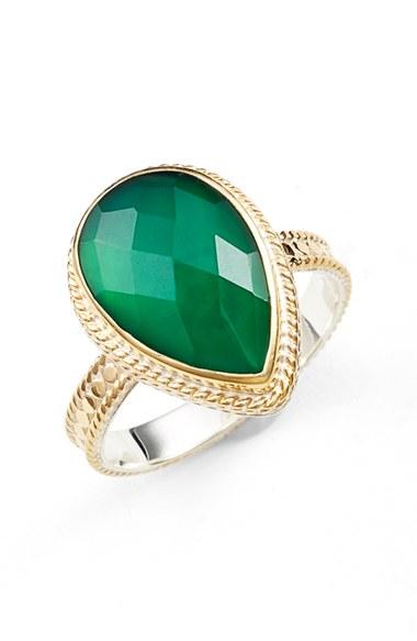 Lyst Anna Beck Semiprecious Stone Ring In Metallic