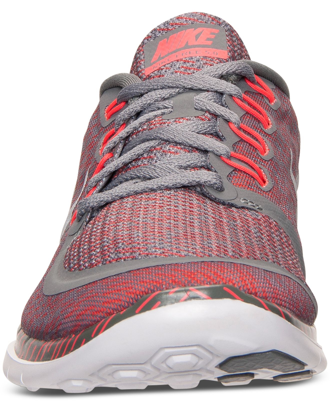 a229a176abbd Lyst - Nike Men s Free 5.0 Print Running Sneakers From Finish Line ...