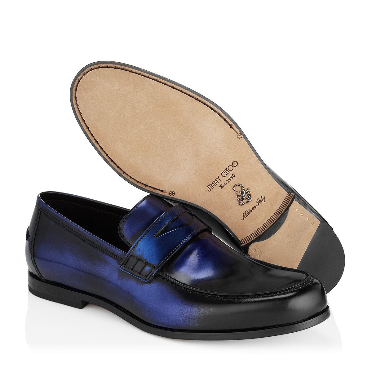 Darblay loafers - Blue Jimmy Choo London Cheap Clearance Store Cheap Big Sale Cheap Fashionable Clearance Low Price Clearance Hot Sale ZUoqv