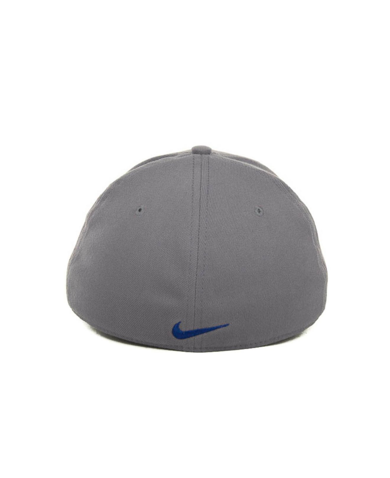 c25a7963 ... new arrivals lyst nike new york mets dri fit swoosh flex cap in gray  for men
