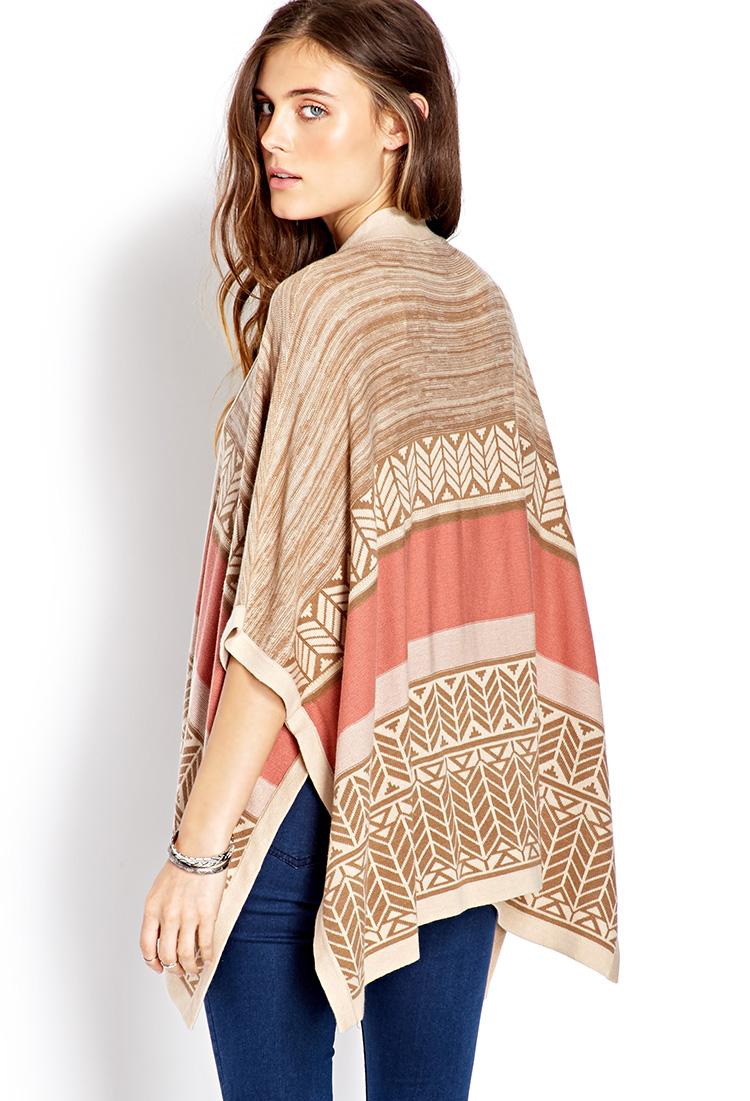 Lyst - Forever 21 Free Spirit Kimono in Brown