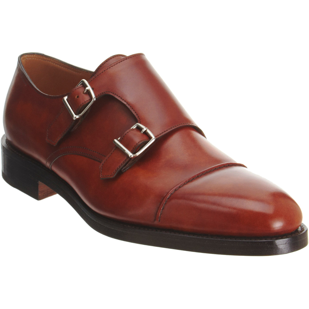 John Lobb Shoes >> john lobb john lobb william ii double monk shoes in brown for men lyst