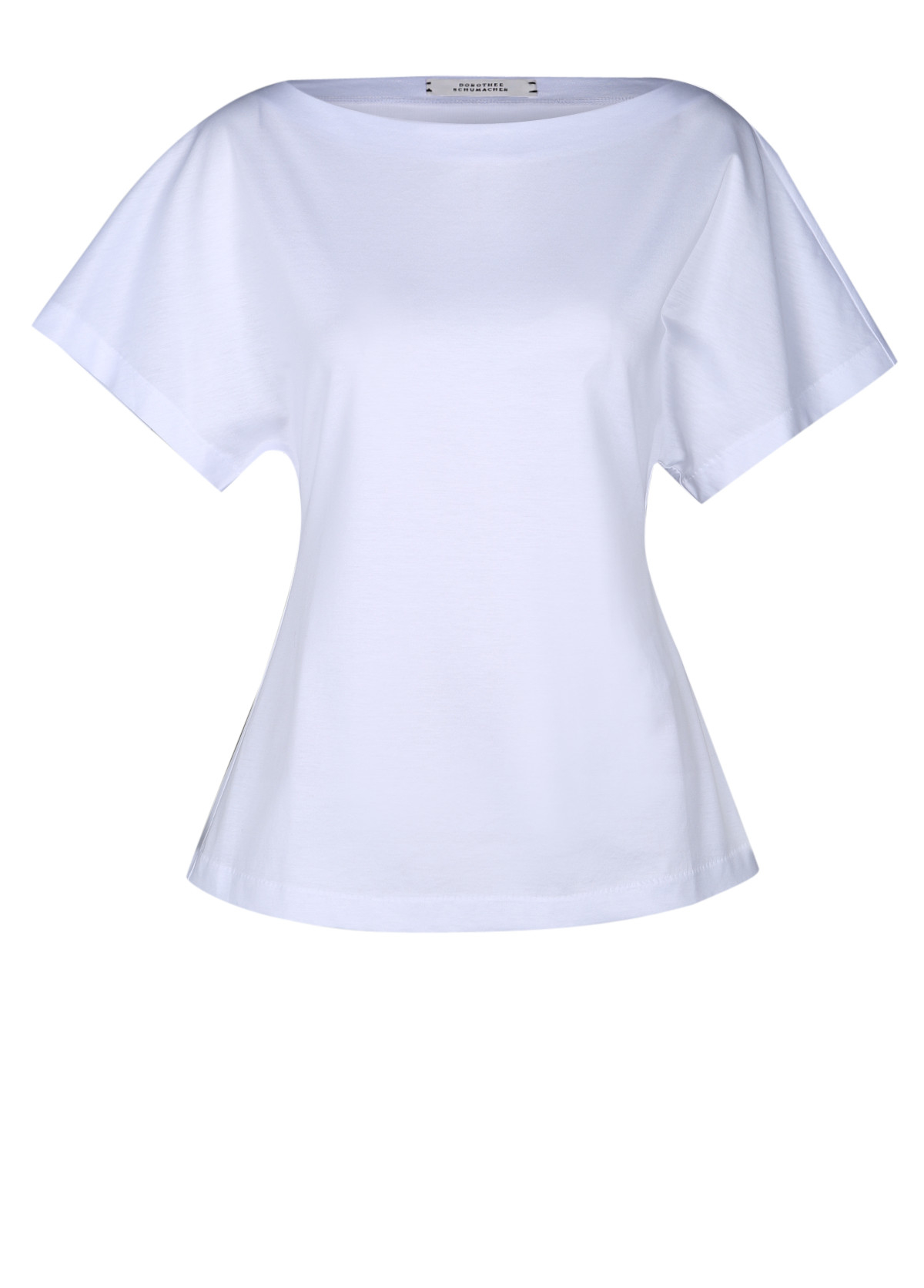 Lyst dorothee schumacher clean couture shirt boatneck 1 for How to clean white dress shirts