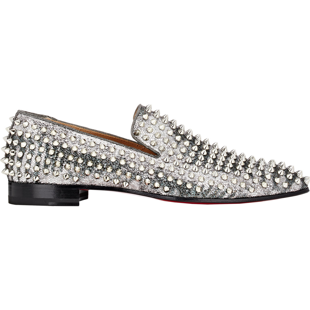 christian louboutin spiked loafers - 28 images