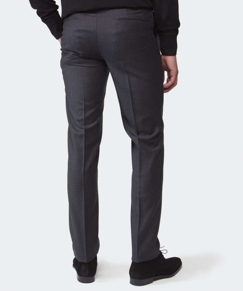 405005893dc9 Lyst - Incotex Super 100 Wool Trousers in Gray for Men