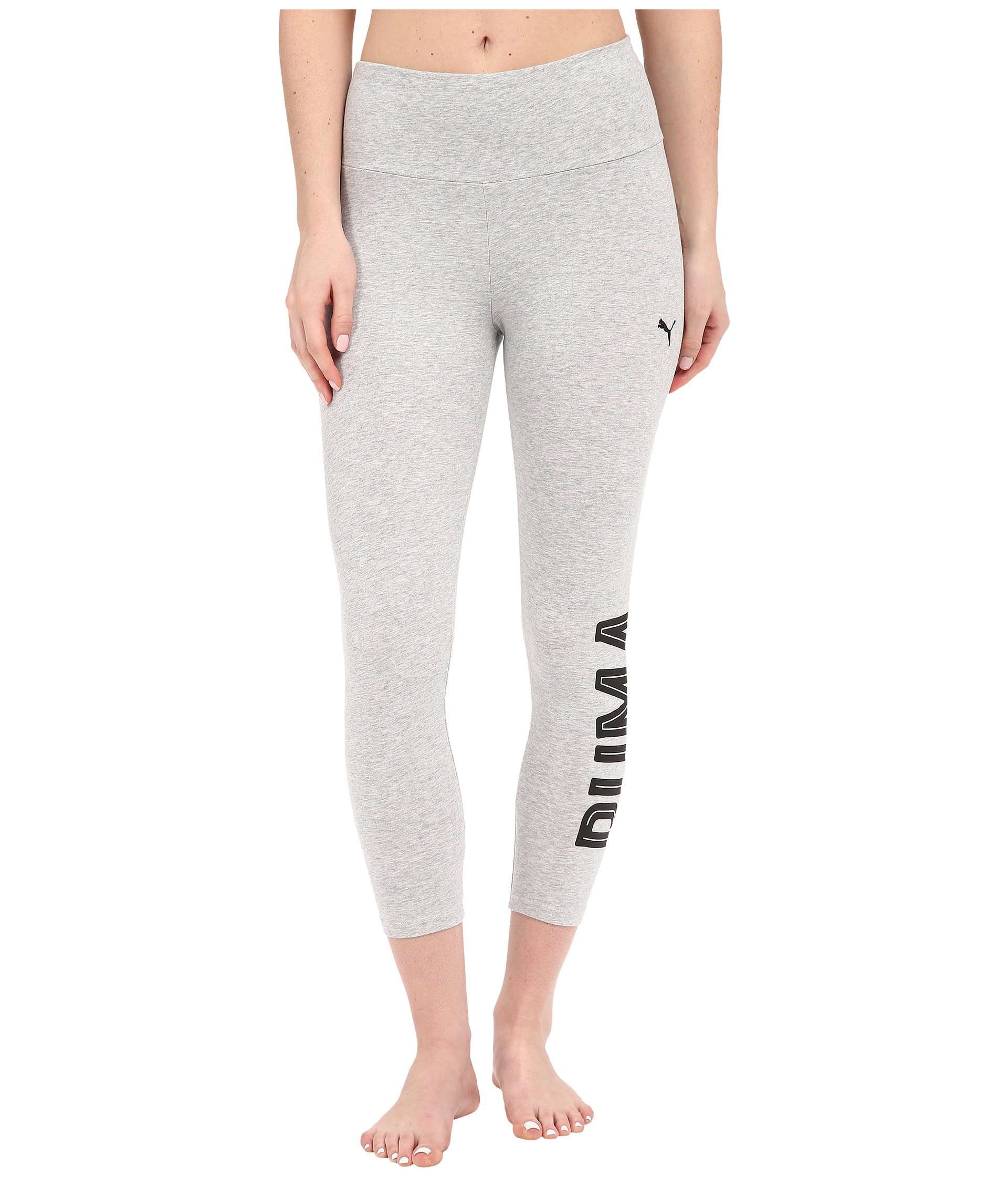 d07c837e30aa Lyst - PUMA Style Swagger 3 4 Leggings in White