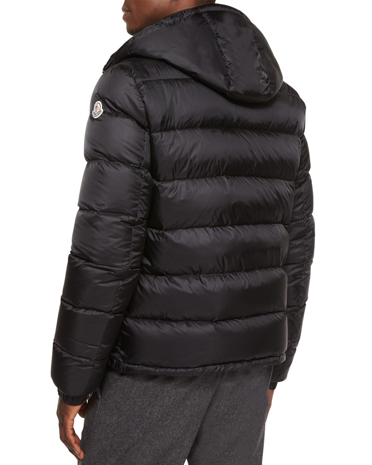 Moncler Demar Quilted Puffer Jacket In Black For Men Lyst