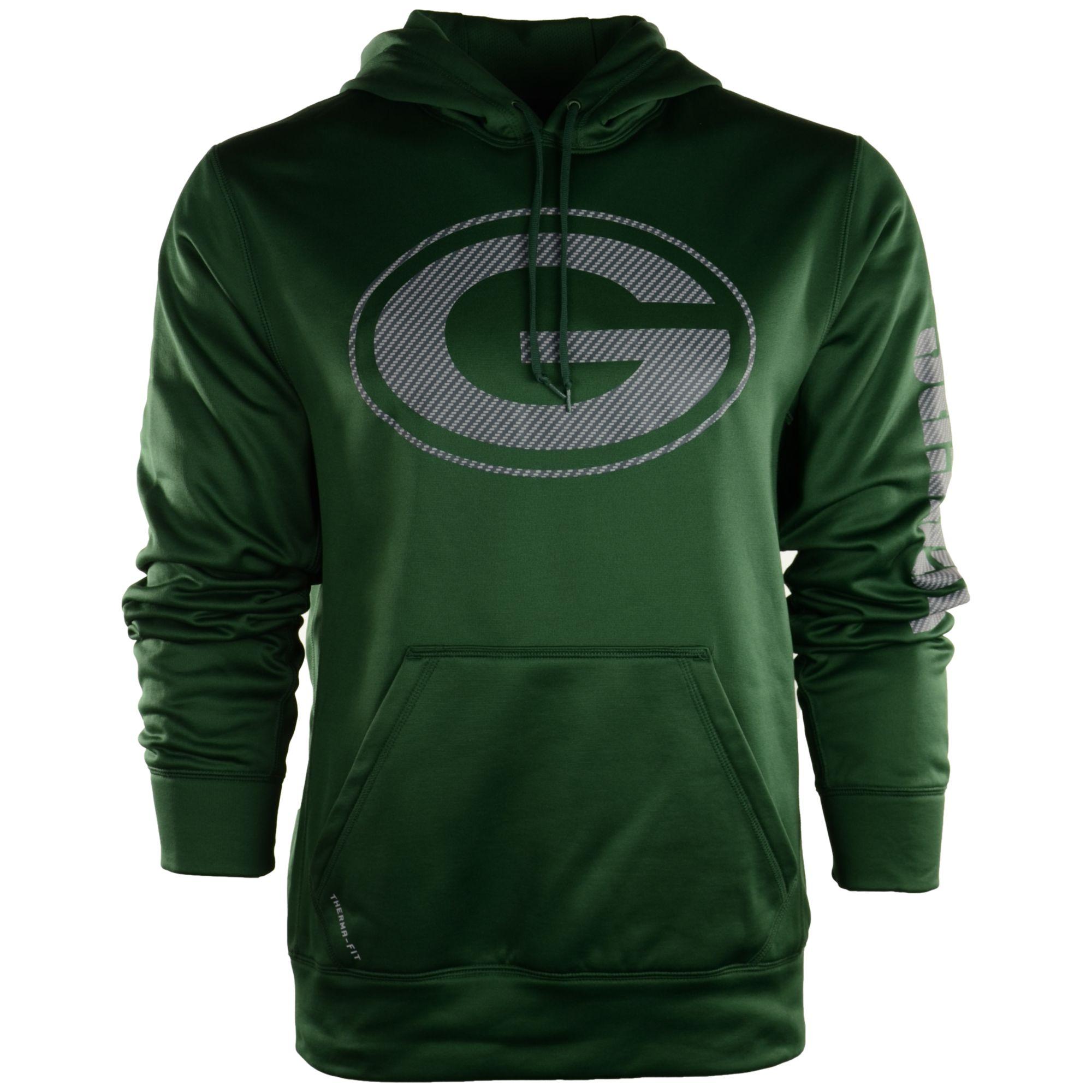 Lyst - Nike Mens Green Bay Packers Carbon Ko Hoodie in Green for Men 72b99d949