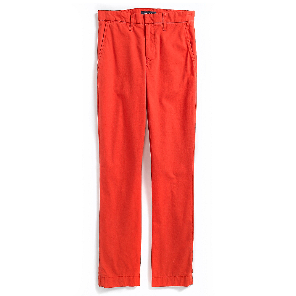 tommy hilfiger mercer chino pant in red for men poppy red. Black Bedroom Furniture Sets. Home Design Ideas