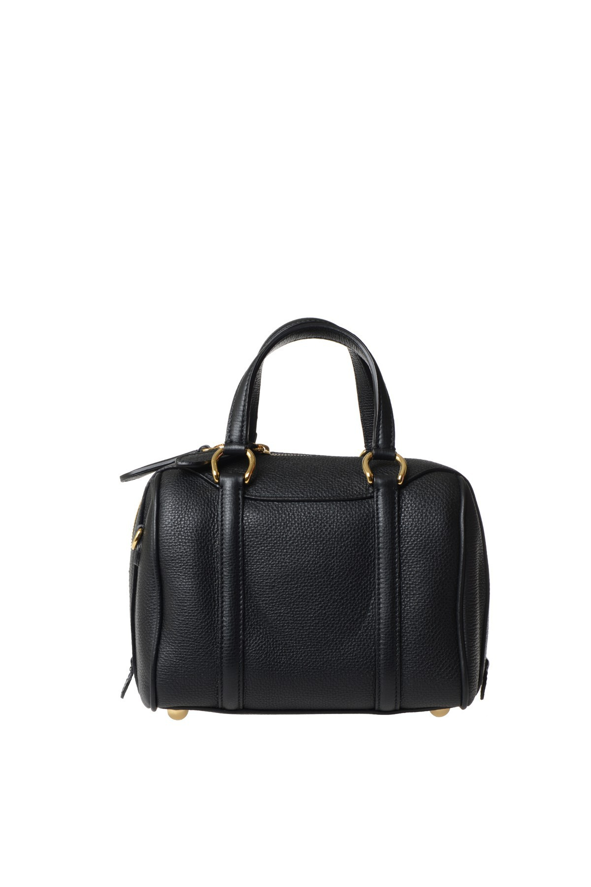 ef862b4132e Burberry Leather Mini Bag in Black