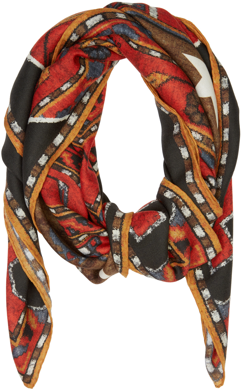 Skull printed scarf Givenchy 1RjLX