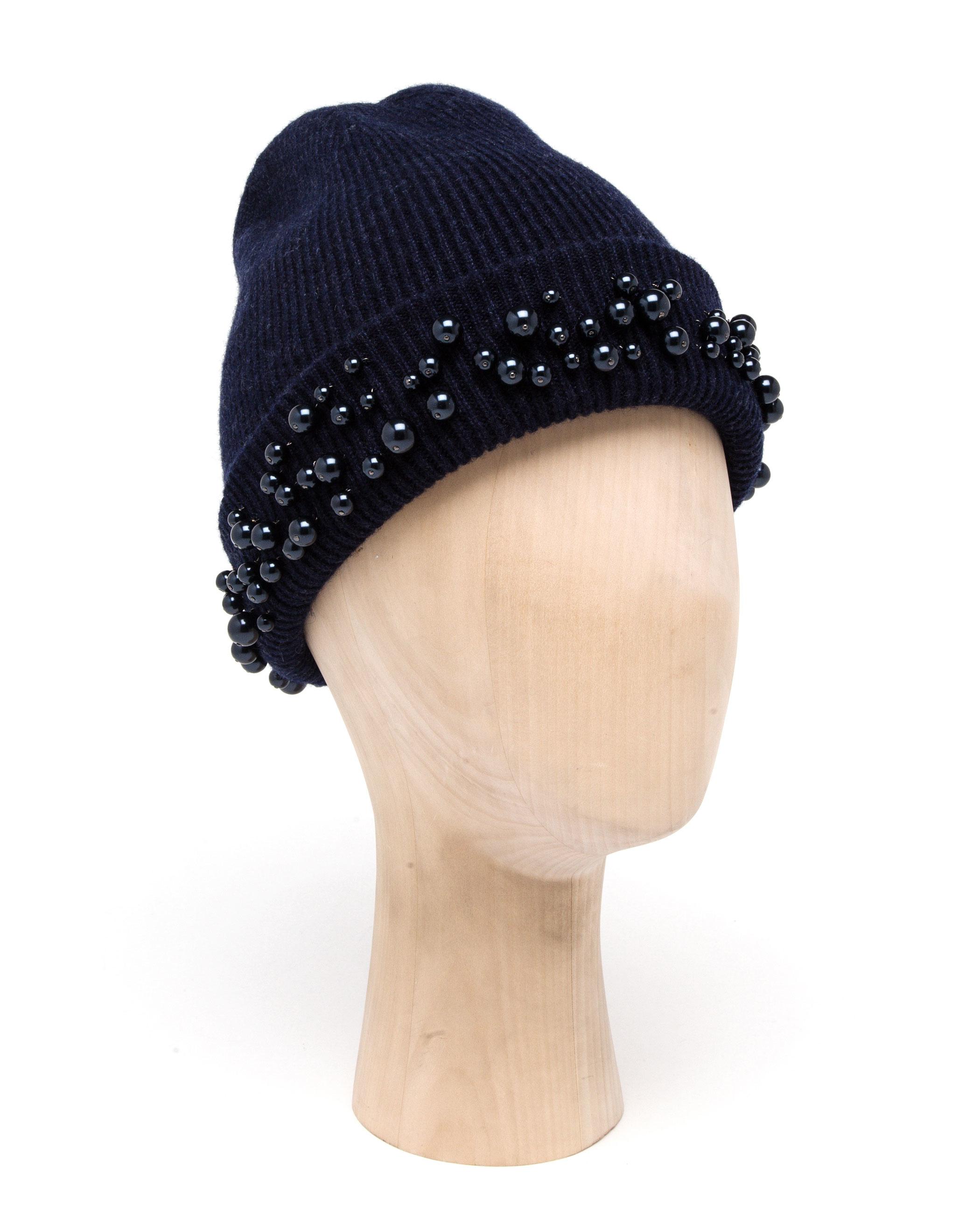 Chapeau Embelli Beanie - Bleu Maison Michel x1AoGiJ
