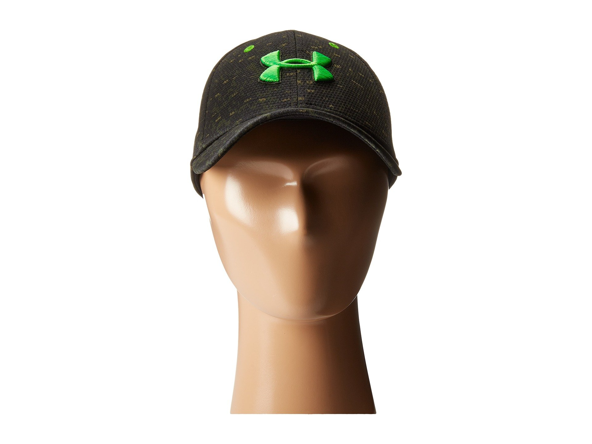 586ad92efb3 ... low cost lyst under armour ua printed blitzing cap youth in green for  men 28e27 21c4e