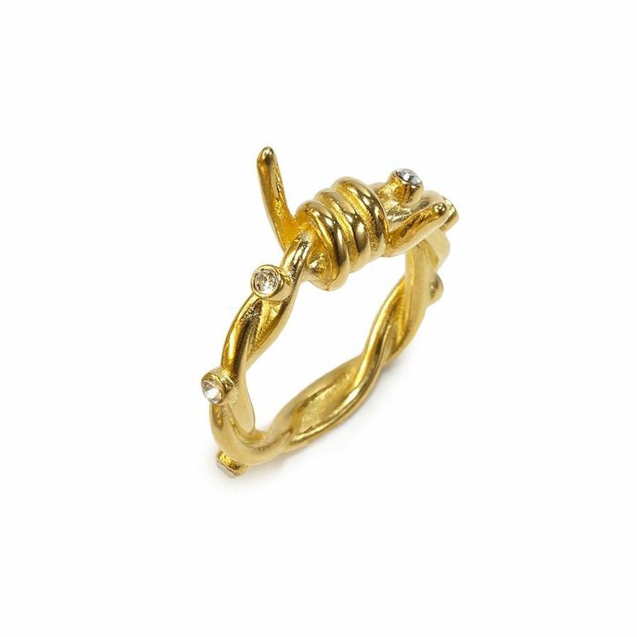 Nice Gold Wire Rings Contemporary - Wiring Diagram Ideas - blogitia.com