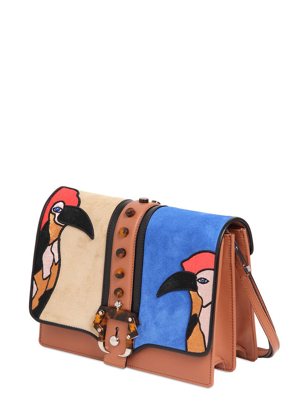 Lyst Paula Cademartori Tatiana Shoulder Bag In Brown