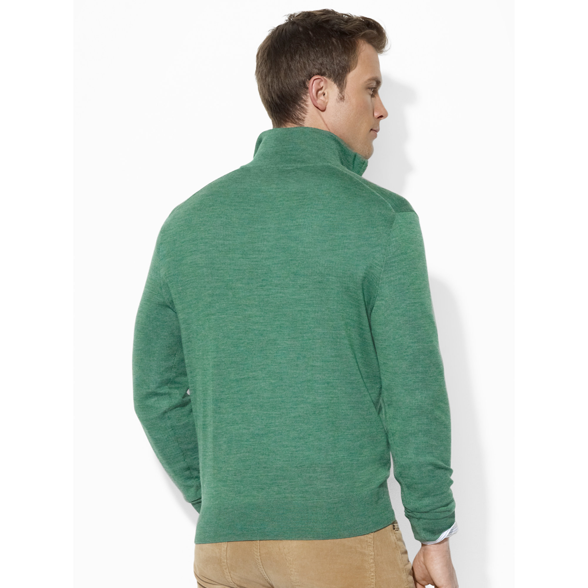 Green Merino Wool Turtleneck. Sale $ Orig $