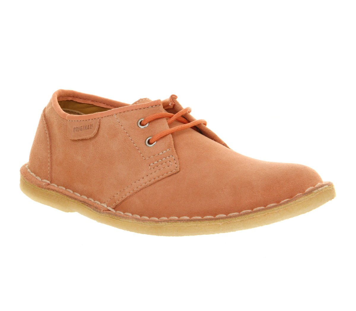 clarks jink lace up shoe in pink lyst
