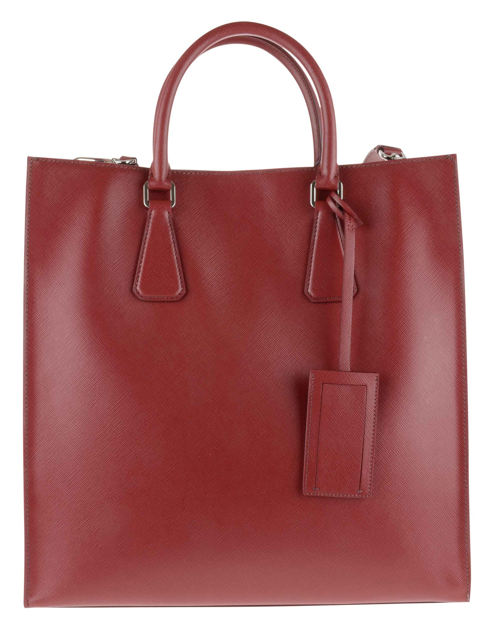 prada suede handbags - Prada Borsa Viaggio Saffiano Travel Rosso Rubino Info: Chiusura in ...