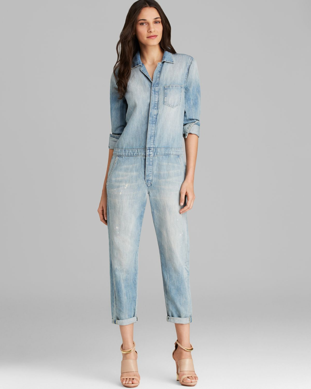 5d64d0dfad8 Gallery. Previously sold at  Bloomingdale s · Women s Denim Jumpsuits ...