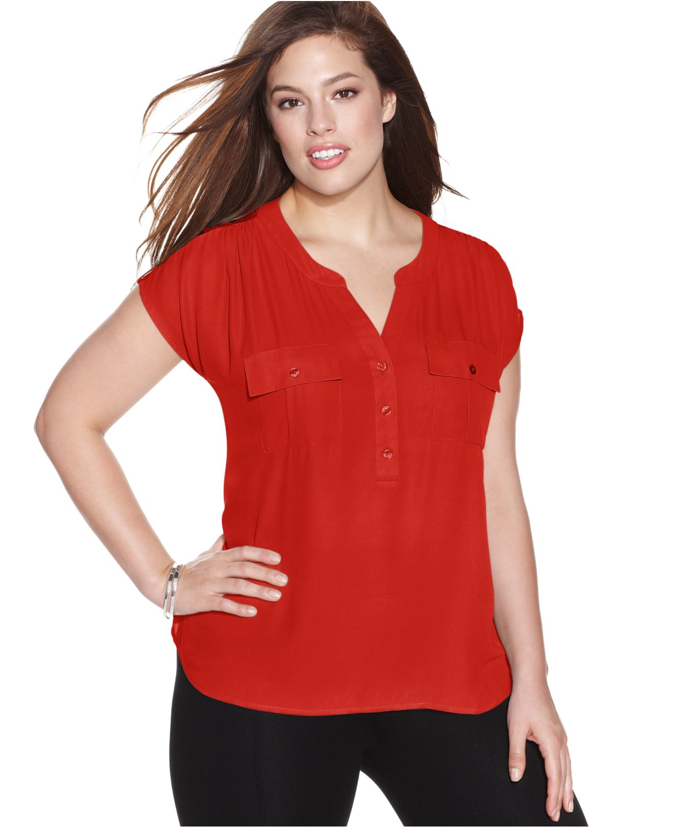 Womens Plus Size Blouse 108